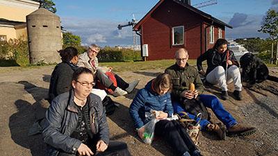 Bild från en av våra vandringar. Foto: Joachim Kåhlman